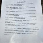 CAFE MENU Click to Enlarge