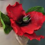 Fondant Hibiscus