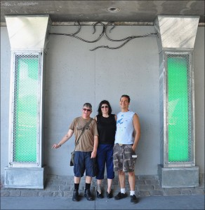 Todd, Alexandra and John