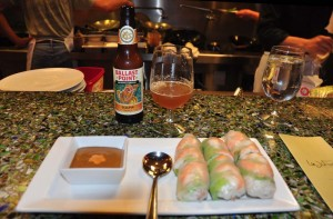 Sculpin IPA with Hakka Rolls