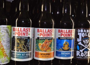 Ballast Point Beers