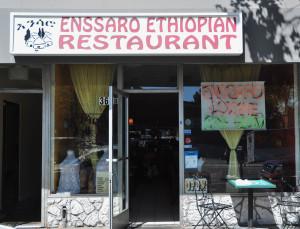 Enssaro Restaurant Exterior