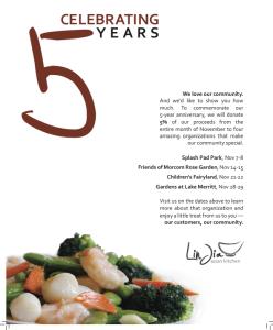 Lin Jia 5th Anniversary