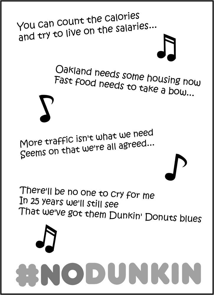 Dunkin'Lyrics