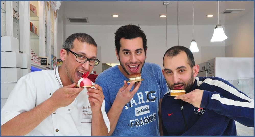 Chef Karim Bedda and Owners, Khalid and Najib Elferrouj