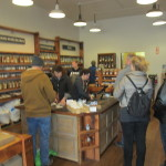 Oaktown Spice Shop interior - bit blurry