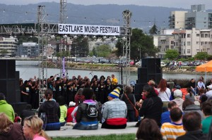 Gospel Choir at Eastlake Music Festival