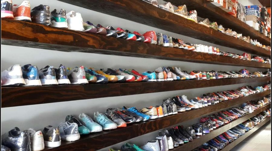 New Sneaker Store on Wesley Avenue